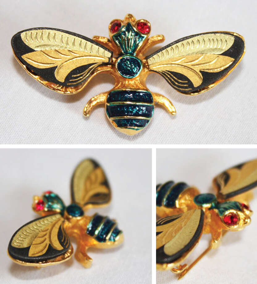 Bee brooch Photo: Lauren Robinson/Seattle Goodwill
