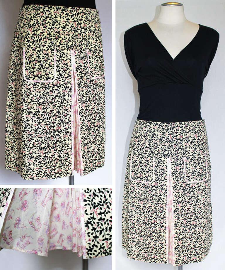 Diane von Furstenberg cotton skirt Photo: Lauren Robinson/Seattle Goodwill