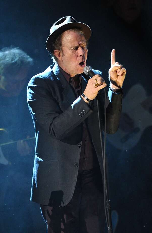 NEW YORK, NY - MARCH 14:  Inductee Tom Waits performs onstage at the 26th annual Rock and Roll Hall of Fame Induction Ceremony at The Waldorf=Astoria on March 14, 2011 in New York City.  (Photo by Michael Loccisano/Getty Images) (Getty Images)