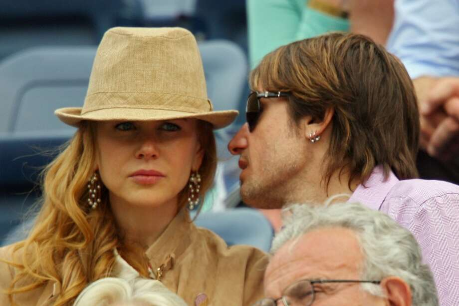 NEW YORK - SEPTEMBER 07:  (L-R) Actress Nicole Kidman and musician Keith Urban attend the Roger Federer vs Tommy Robredo match during day eight of the 2009 U.S. Open at the USTA Billie Jean King National Tennis Center on September 7, 2009 in the Flushing neighborhood of the Queens borough of New York City.  (Photo by Matthew Stockman/Getty Images) (Getty Images)