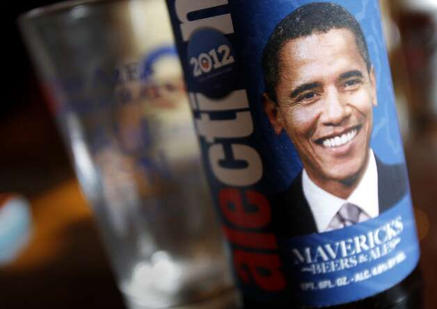 A local brewery is having fun with the President on their beer label. Wade Randlett and his wife Lorna have helped raise $700,000 for the President Obama's election campaign in 12 events in the Bay Area. Photo: Brant Ward, The Chronicle