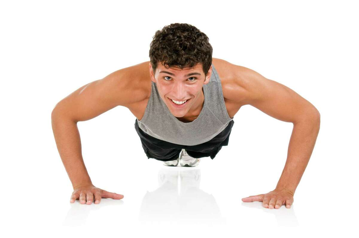 Pushups seem old-school but can be great for you. (Fotolia.com)