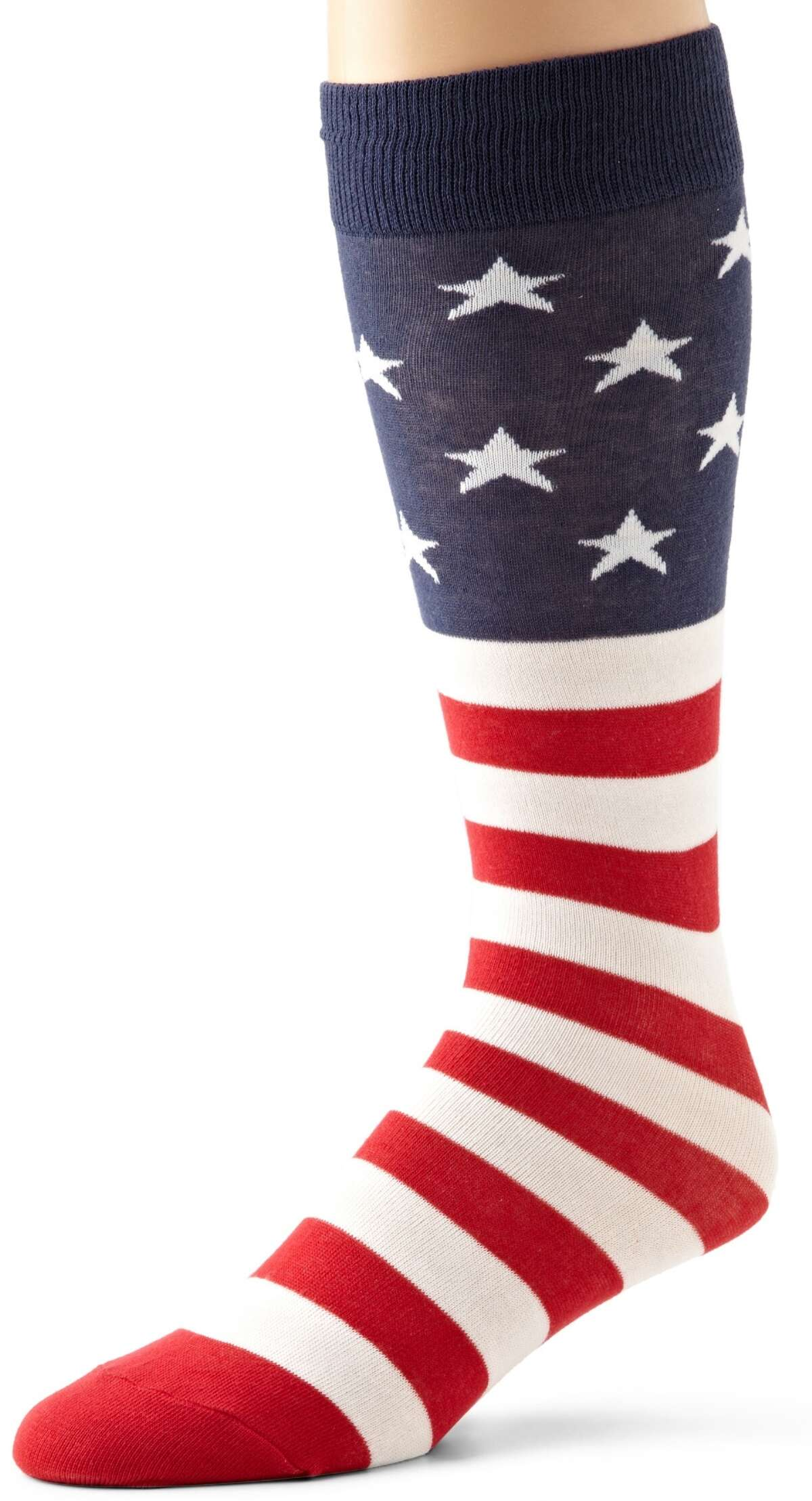 Stars-and-stripes stockings