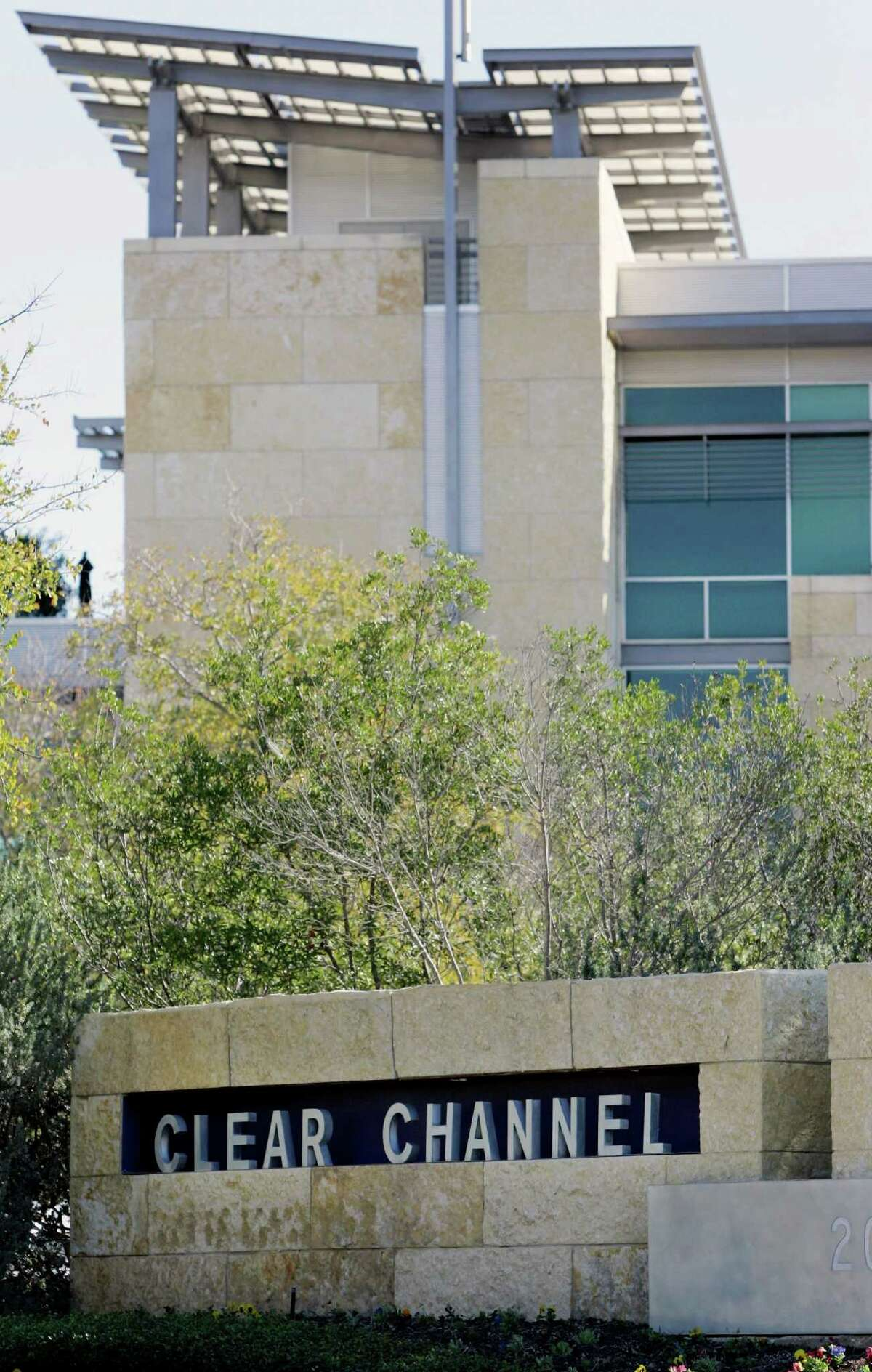 The headquarters for Clear Channel Communications, a privately held radio broadcasting and outdoor advertising.