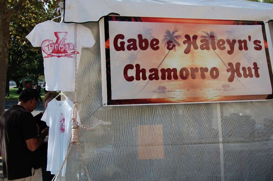 What's Chamorro food? You'll have to visit the lunch stands to find out. (Jeanne Cooper / SFGate)