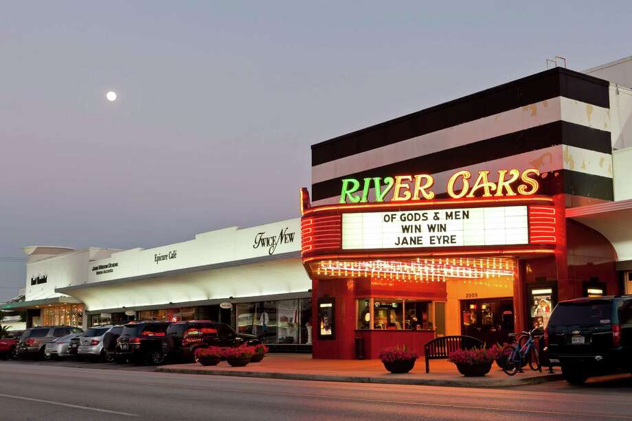 Located in River Oaks Shopping Center, the River Oaks Theater was built in 1939 and has been operated by Landmark Theaters since 1976. Photo by Nathan Lindstrom Photo: Nathan Lindstrom, Handout
