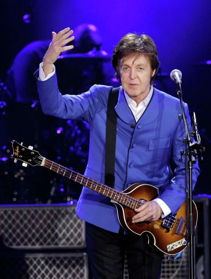 Paul McCartney will perform on Nov. 14 at Minute Maid Park. Photo: PATRICK KOVARIK, Staff / AFP