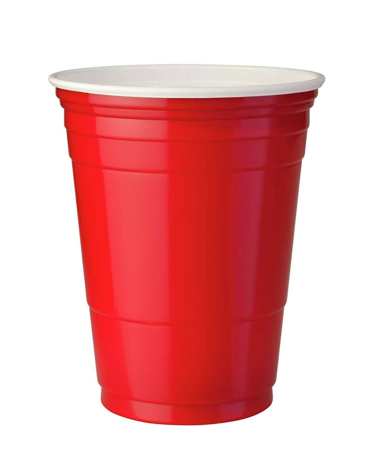 A plastic Solo cup can hold as much as eight servings of alcohol, depending on how much liquor is mixed with other ingredients.