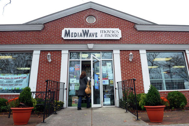 Media Wave Movies and More on Post Road in Fairfield, Conn. on Friday November 2, 2012. Photo: Christian Abraham / Connecticut Post