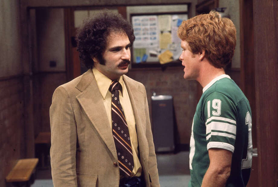 "More big hair and mustaches came from the great '70s series, ""Weclome Back Kotter,"" starring Gabe Kaplan (L) and John Travolta (not pictured).  Photo: Hulton Archive, / / 2003 Getty Images"