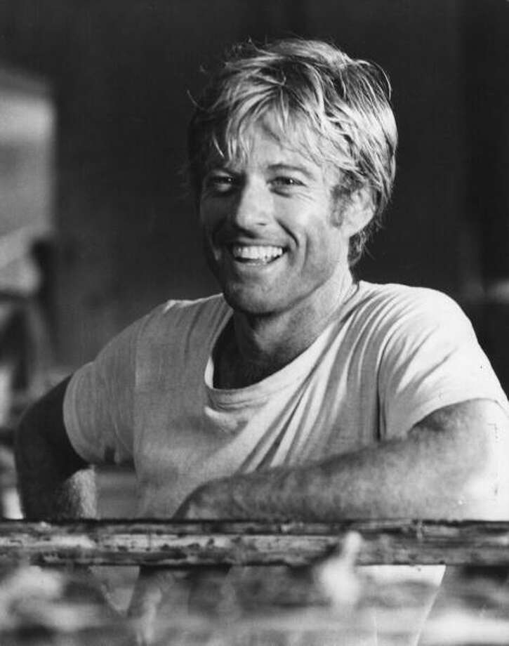 "Before Brad Pitt, there was Robert Redford, who had great movie roles in ""The Sting,"" ""The Great Gatsby"" and ""The Way We Were.""  Photo: Hulton Archive, / / Hulton Archive"
