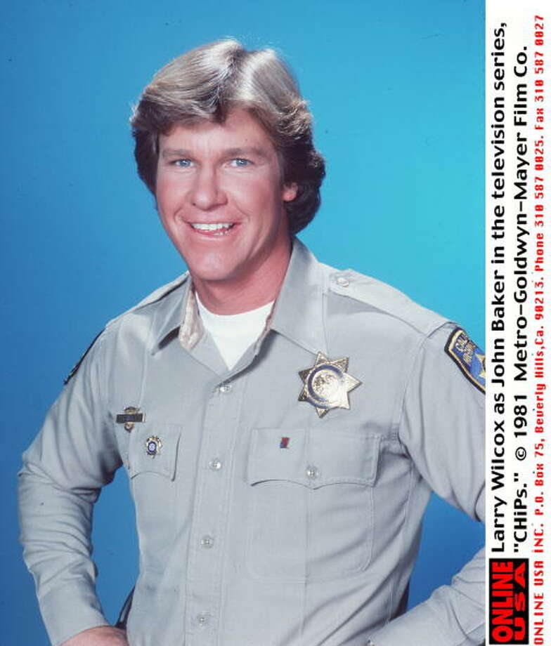 "No, we didn't forget Larry Wilcox. He was Jon to Estrada's Ponch in ""CHiPs."" Photo: Getty Images, / / Getty Images North America"