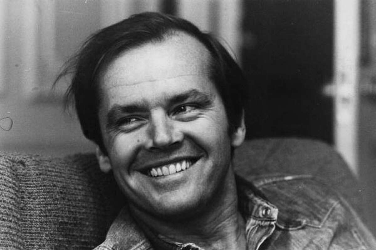 The '70s were also great for Jack Nicholson, who starred in