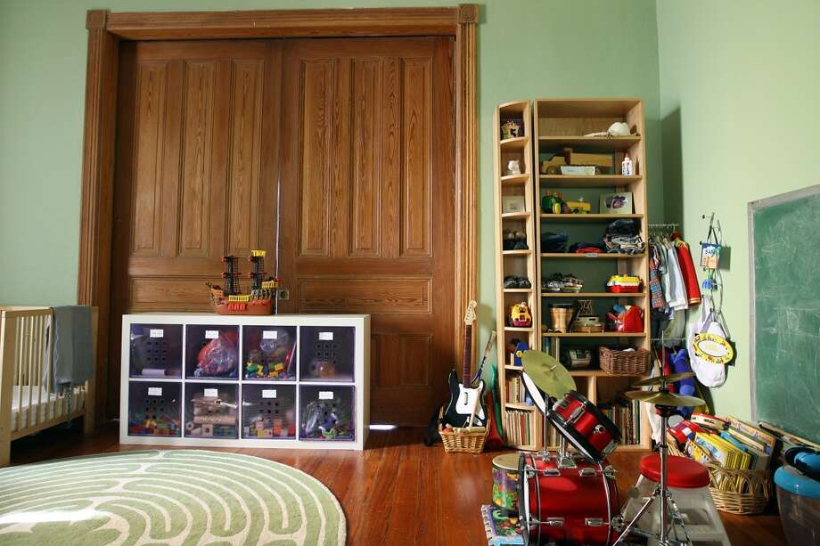 A view of the playroom at the Johanna and Ziad Sawalha house on Lavaca Street, Tuesday, Oct. 30, 2012. (San Antonio Express-News)