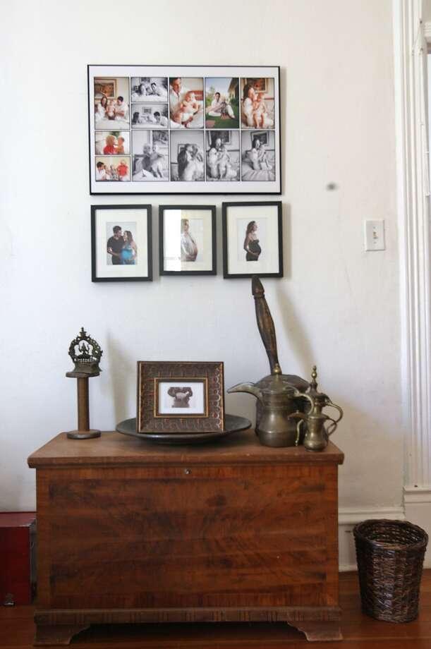Views of the Johanna and Ziad Sawalha house on Lavaca Street, Tuesday, Oct. 30, 2012. (San Antonio Express-News)