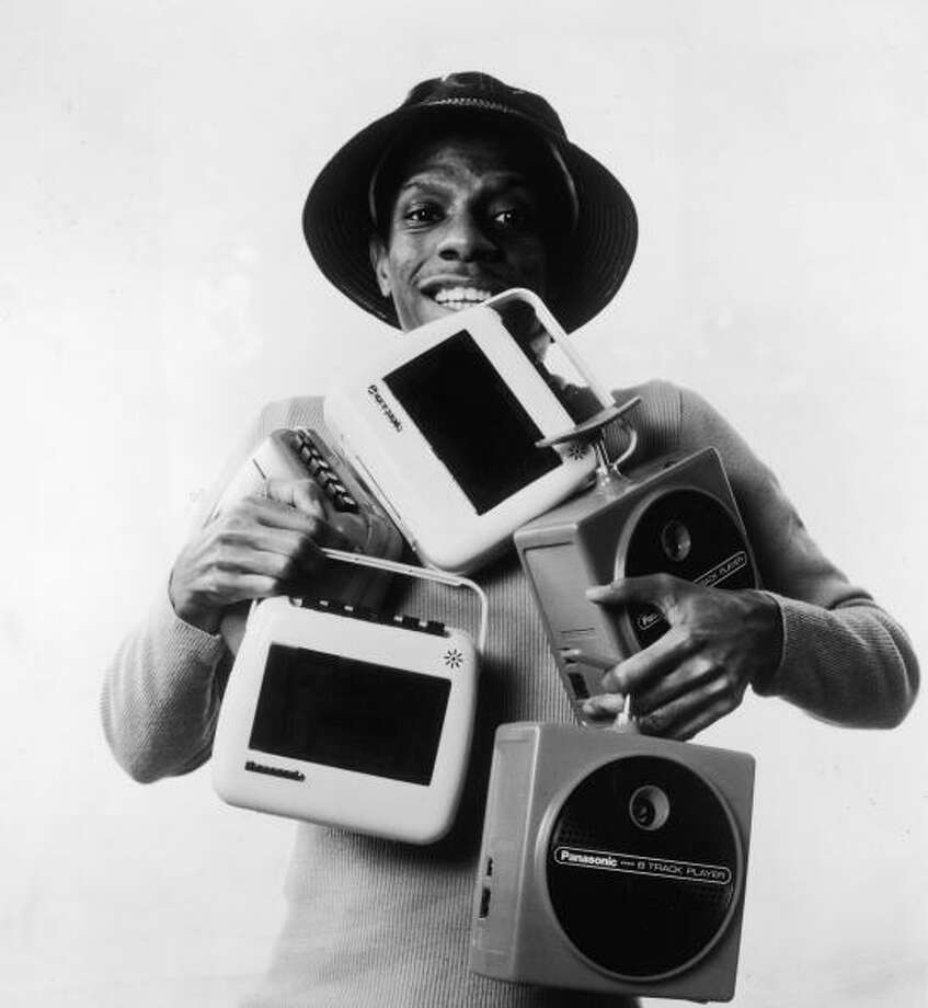 "Now those are some old-school machines. Jimmie Walker was irrepressible J.J. on ""Good Times"" and known for his catchphrase ""Dy-no-mite!""  Photo: Hulton Archive, / / 2004 Getty Images"