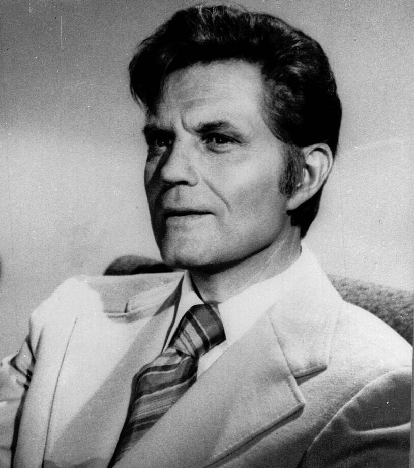 """Book 'em, Danno."" Jack Lord was the gruff lieutenant in ""Hawaii Five-O,"" which ran in the '60s, '70s and '80s and was known for its ""exotic"" locale and that high-octane theme song. Lord died in 1998.  Photo: / / AP"