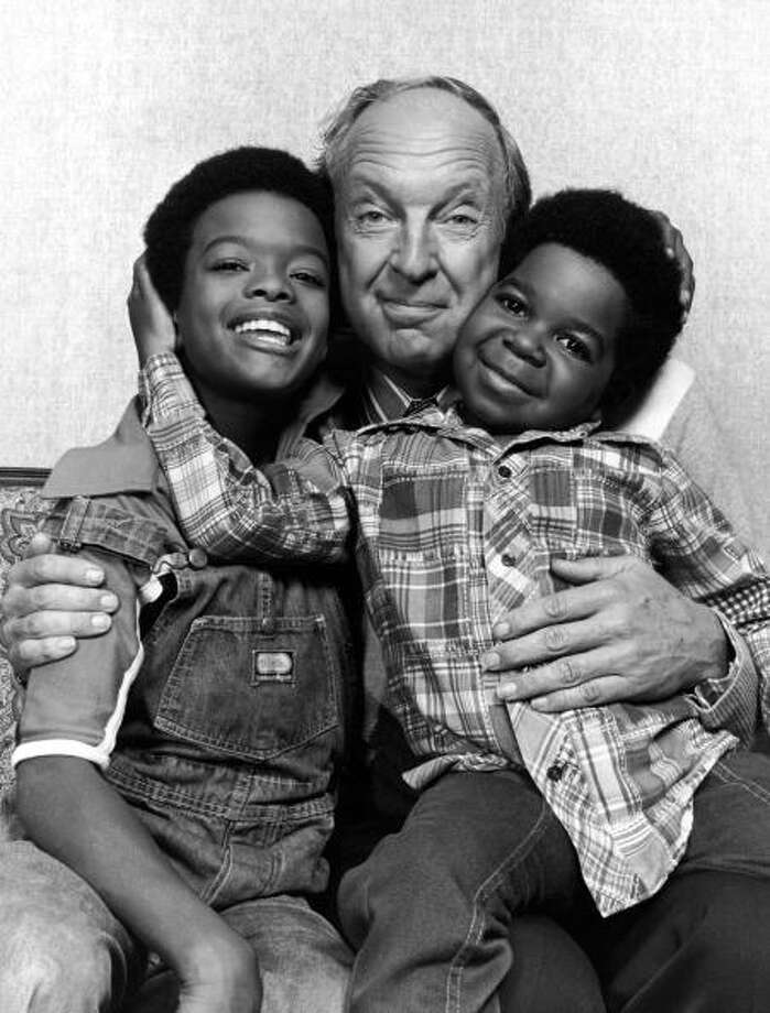 """Diff'rent Strokes,"" which first aired in 1978, made stars out of child actors Gary Coleman (R) and Todd Bridges (L) and tackled serious topics from racism to child sexual abuse. Conrad Bain (center) played the rich dad who adopted kids from Harlem.  Photo: NBC Television, / / 2005 Getty Images"