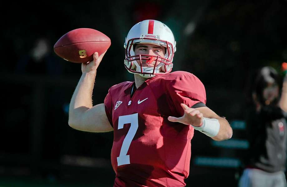 Brett Nottingham was Stanford's primary backup quarterback in 2011, but Josh Nunes is the 2012 starter and reserve Kevin Hogan has his own play package. Photo: John Storey, Special To The Chronicle