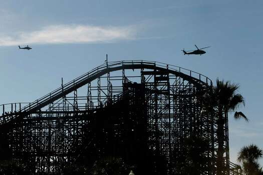 For a shakier ride, head to the Kemah Boardwalk and take a spin on the super-fast wooden coaster, the Boardwalk Bullet. Photo: Johnny Hanson, Houston Chronicle / © 2012  Houston Chronicle