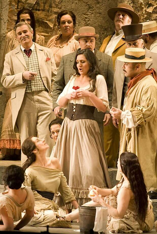 "Maya Lahyani stars as Carmen in ""Carmen for Families,"" a one-hour film to be shown twice. Photo: S.F. Opera"