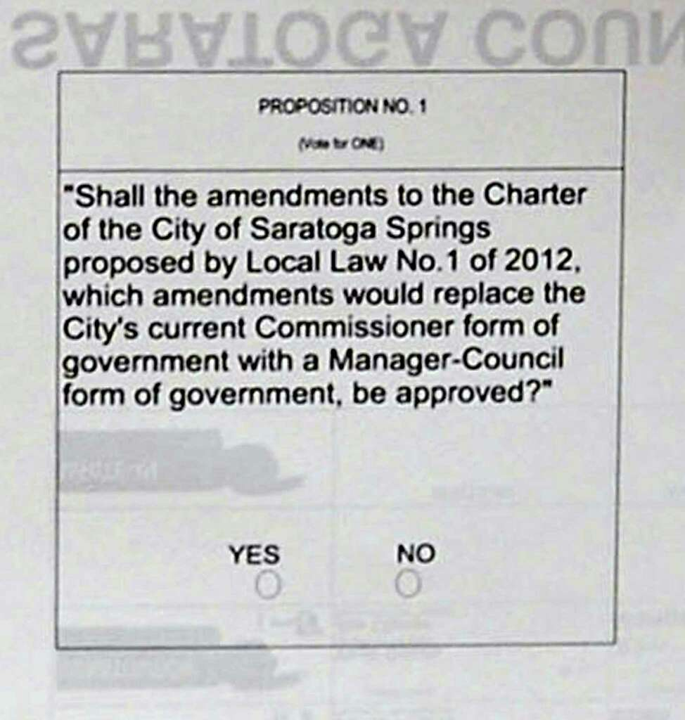 Here's a proposition: Check Page 2 - Times Union