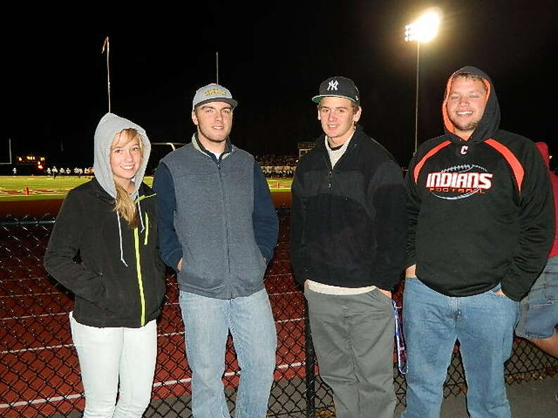 Were you Seen at the Chatham vs. Hoosick Falls Class C Super Bowl at Stillwater High School on Frida