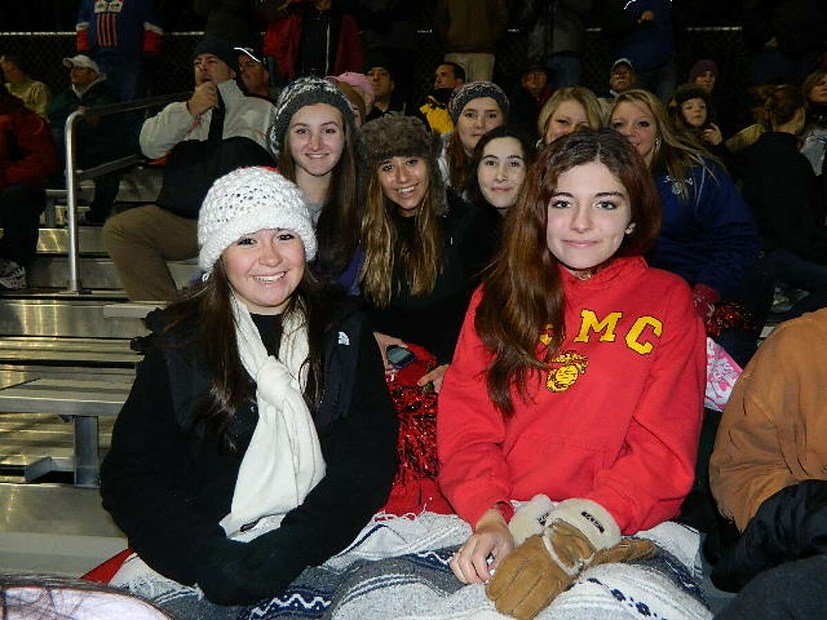 Were you Seen at the Chatham vs. Hoosick Falls Class C Super Bowl at Stillwater High School on Friday, Nov. 2, 2012?