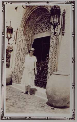 "Marion Koogler McNay and her second husband, Donald Atkinson, commissioned Atlee and Robert Ayres to design their residence on a 23-acre parcel of suburban land four miles north of downtown San Antonio known at the time as ""Sunset Hills.""   The villa was built in Ayres' recognizable Spanish Colonial Revival style in 1927. Photo: Courtesy Photo"