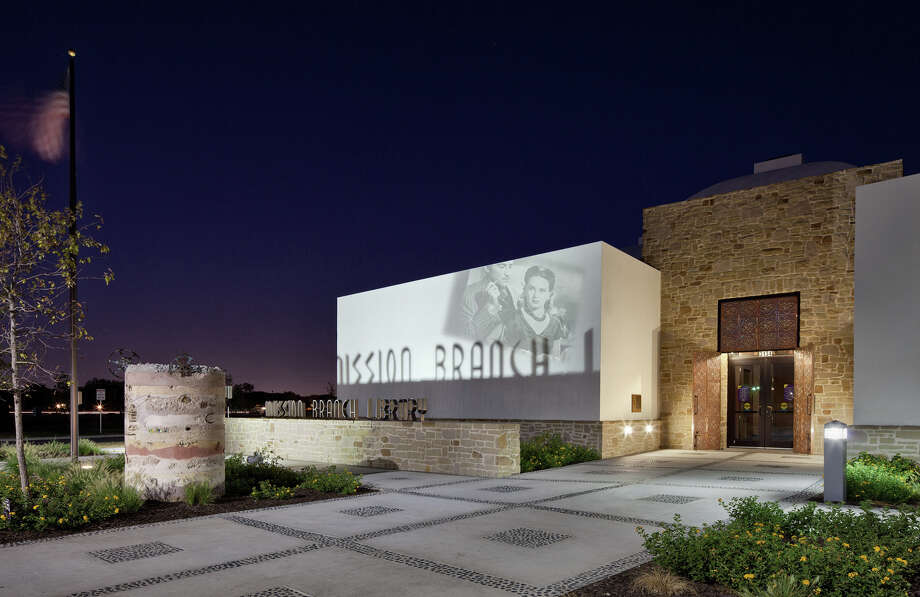 """Rather than a singular building, the (Mission Branch) library is part of a larger re-imagining of the Mission Drive-In and Mission San Jose area,"" said Mayor Julián Castro in a statement. ""The Mission Branch Library threads the needle between being faithful to the history and architecture of its surroundings while still making a unique design statement on its own."" Photo: Courtesy Photo"