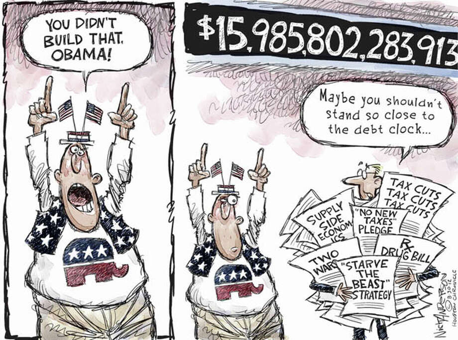 Aug. 29, 2012: You didn't build that Photo: Nick Anderson