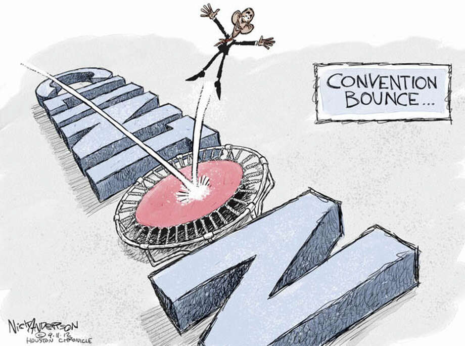Sept. 10, 2012: The Bounce Photo: Nick Anderson