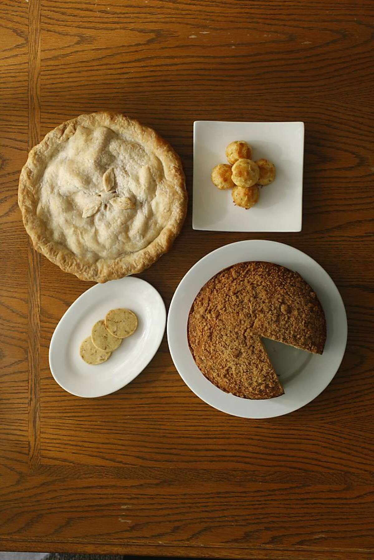 Frozen dough can be used to make-ahead anything from coffee cake to pie.