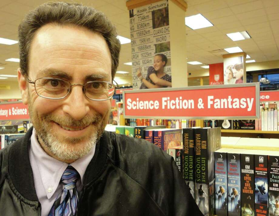 "Fairfielder writer Robert Greenberger will discuss his new book, ""STAR TREK: The Complete Unauthorized History,î on Sunday at the Fairfield University Bookstore. Photo: Meg Barone"