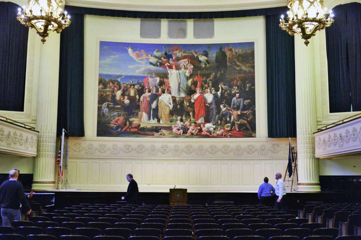 The 29.5 x 18 ft. 1870 mural