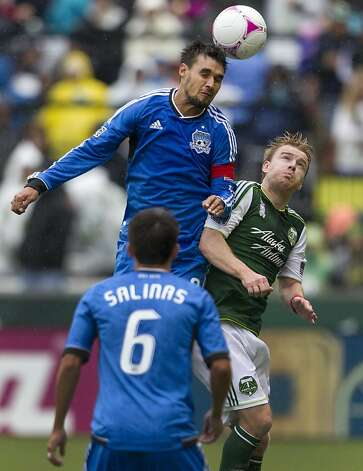 Quakes forward Chris Wondolowski, a Danville native, tied an MLS record with 27 regular- season goals in 2012. He leads San Jose in the playoffs against David Beckham, Landon Donovan and the L.A. Galaxy on Sunday. Photo: Ross William Hamilton, Associated Press