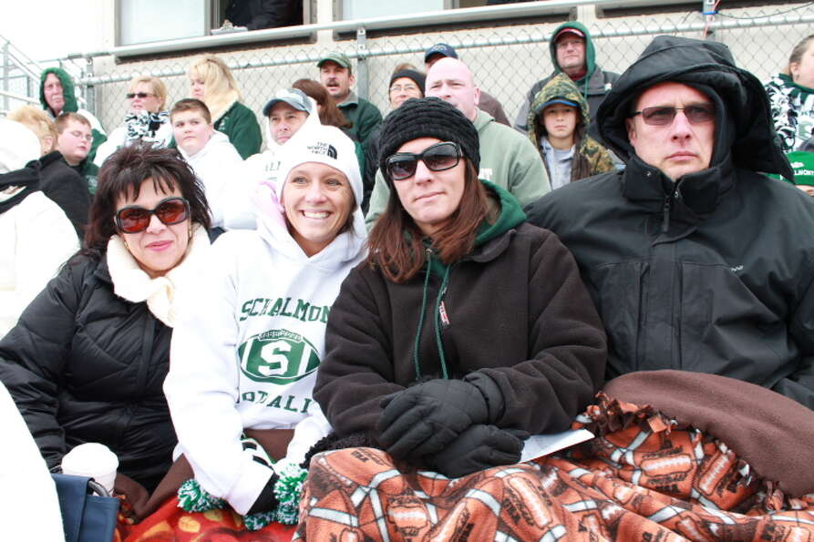 Were you Seen at the Glens Falls vs. Schalmont Class B Super Bowl played at Shenendehowa in Clifton