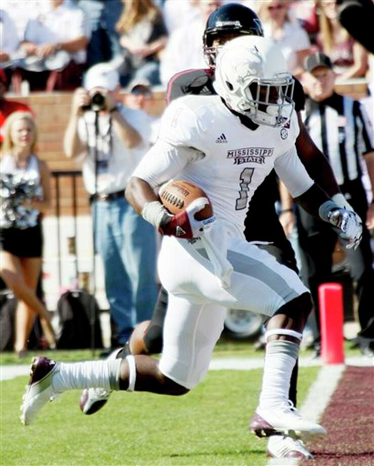 Mississippi State wide receiver Chad Bumphis Photo: Rogelio V. Solis, AP / AP
