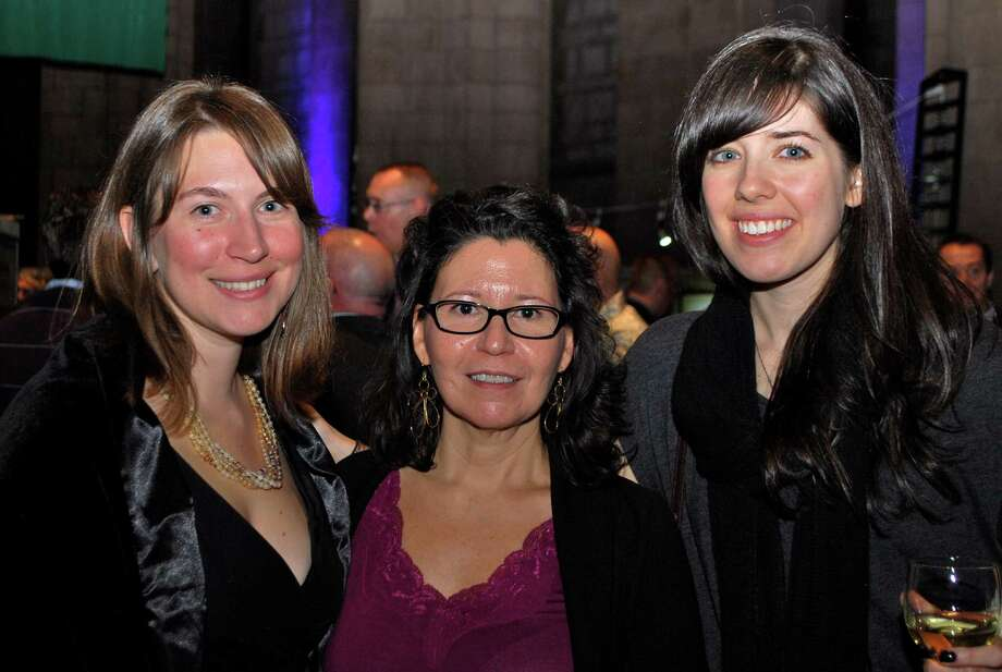 "Were you Seen at Historic Albany Foundation's ""BUILT: Albany's Architecture Through Artists' Eyes"" benefit at The Cathedral of All Saints on Saturday, Nov.3, 2012? Photo: Silvia Meder Lilly"