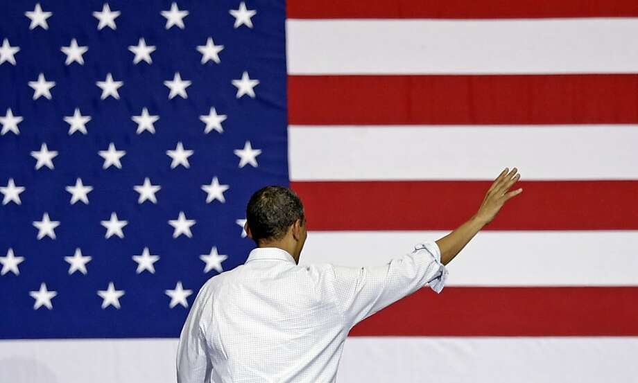 President Barack Obama gestures while speaking at a campaign event Saturday, Nov. 3, 2012, in Milwaukee. Photo: Morry Gash, Associated Press