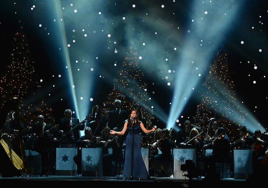 Martina McBride performs during the 2012 Country Christmas concert on November 3, 2012 at the Bridgestone Arena in Nashville, Tennessee.