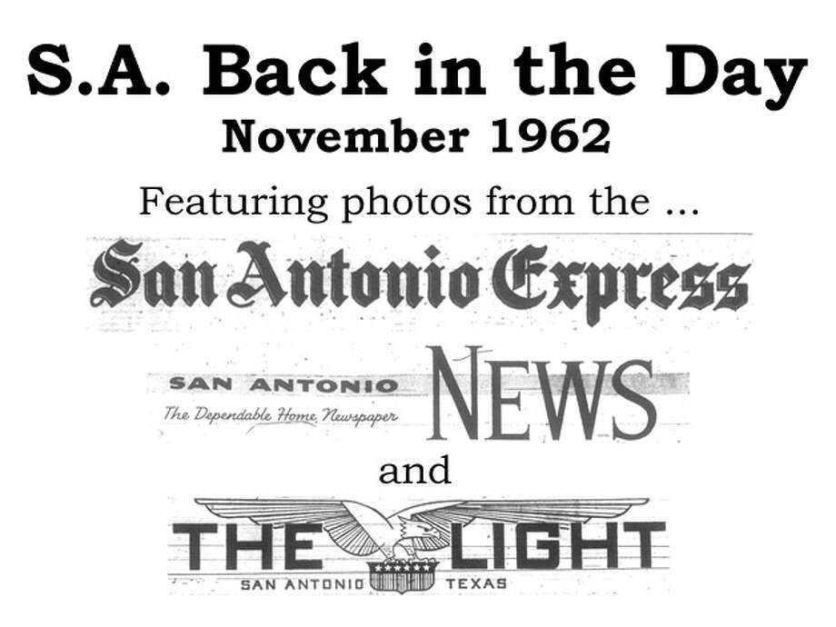 We've combed through the San Antonio Express, San Antonio News and San Antonio Light archives to bring you the best photos from the Alamo City 50 years ago, for the most part using the original photo captions, with exceptions to provide more information. Enjoy! Compiled by Merrisa Brown, mySA.com. Photo: Express-News Illustration