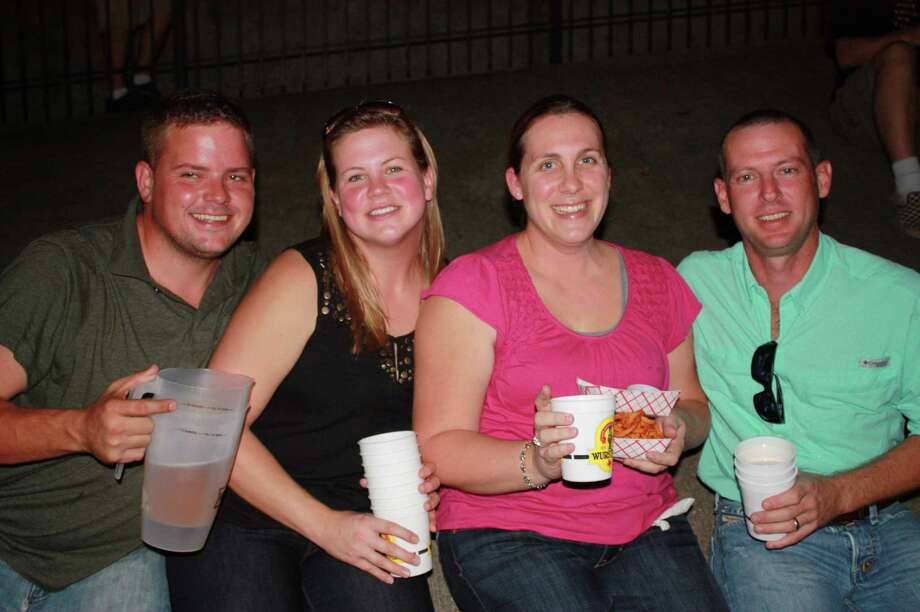 Many enjoyed the opening weekend of the annual Wurstfest in New Braunfels. Photo: Libby Castillo, For MySA.com