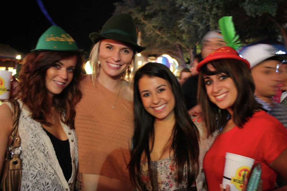 Many enjoyed the opening weekend of the 2012 annual Wurstfest in New Braunfels. Photo: Libby Castillo,  For MySA.com