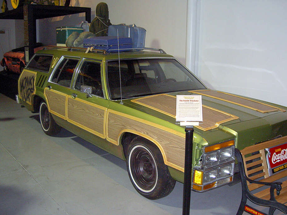 National Lampoon's Vacation: The Griswold family drove around in a station wagon for their crazy shenanigans. The car was a Ford LTD Country Squire. (Photo: AdamL212, Flickr)