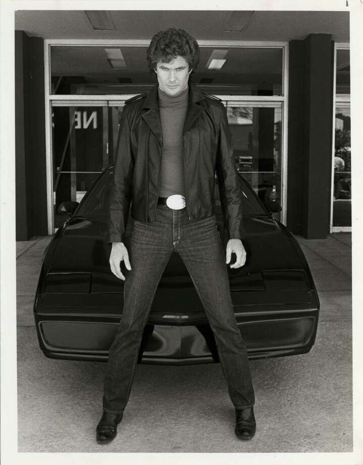 Knight Rider: David Hasselhoff might have had the best Hollywood car of all time. His Knight Industries Two Thousand was a highly advanced,  mobile and robotic car. The car used in the original series was a 1982 Pontiac Trans Am. A Ford GT would be used in the 2008 NBC remake. / handout/ Houston Post files