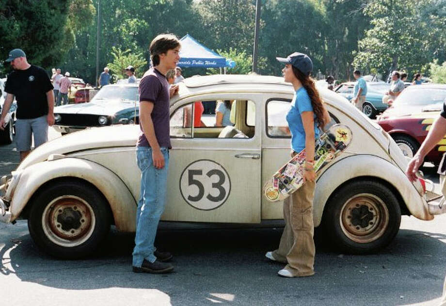 The Love Bug & Herbie Fully Loaded: A 1963 Volkswagen beetle was used in the original movie. A similar car was also driven by Lindsay Lohan in Herbie Fully Loaded. It became an icon for both movies.