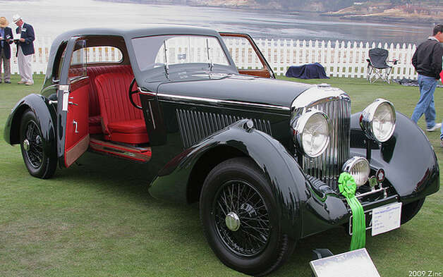 1963 From Russia with Love – 1935 Bentley 3.5 Litre. The car used in the film was a convertible model. This is the standard coupe version. (Photo: Rex Gray, Flickr) Photo: .