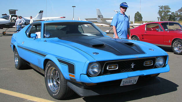 1971 Diamonds are Forever: 1971 Ford Mustang Mach 1 (Photo: Jack_Snell, Flickr) Photo: .