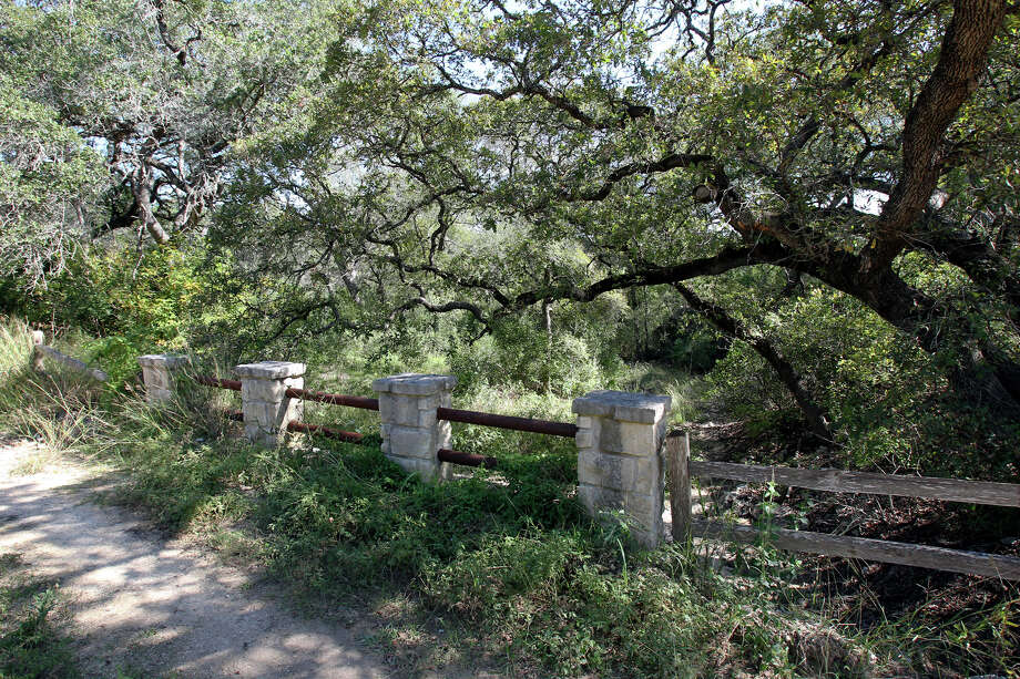 An old bridge stands on possible land additions to the Government Canyon State Natural Area  on October 30, 2012. Photo: Tom Reel, San Antonio Express-News / ©2012 San Antono Express-News
